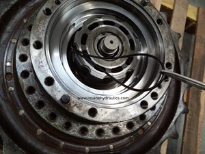 A Way To Insert A Rotary Group Into an Axial piston Pump